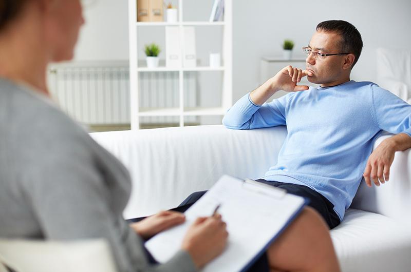 Umawiać się z terapeutą